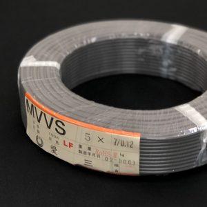 MVVS 7/0.12×5芯