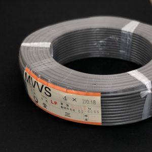 MVVS 7/0.18×4芯