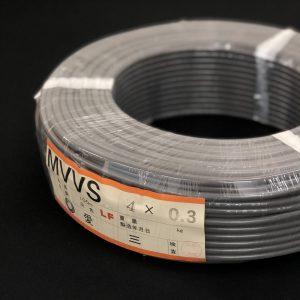MVVS 0.3×4芯
